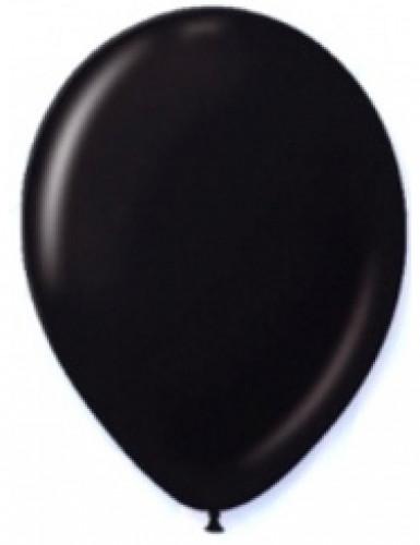 12 palloncini neri 28 cm