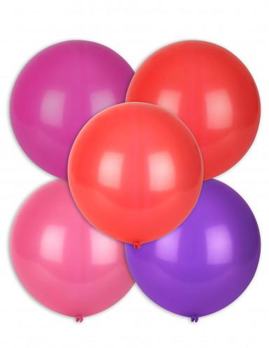5 palloncini grandi colori vari