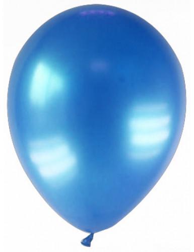 12 palloncini blu scuro metallizzato