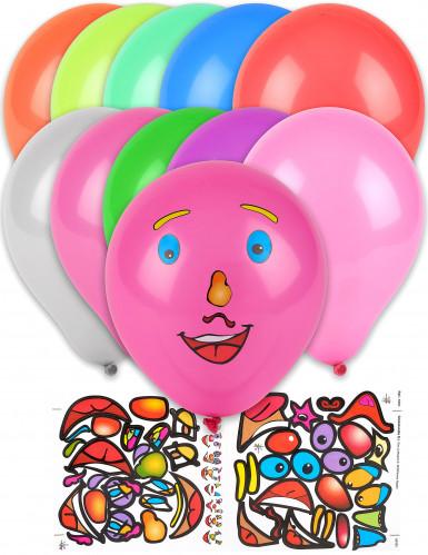 10 palloncini personalizzabili