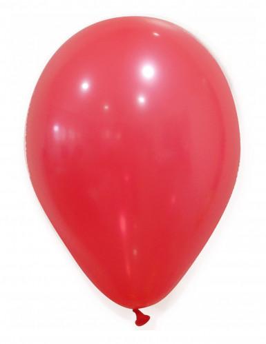 100 palloncini rossi 27 cm
