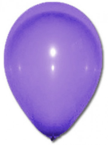 100 palloncini viola 27 cm