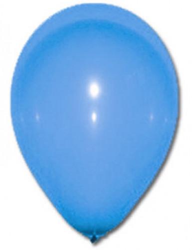 100 palloncini blu 27 cm