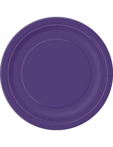 16 tovaglioli di carta viola