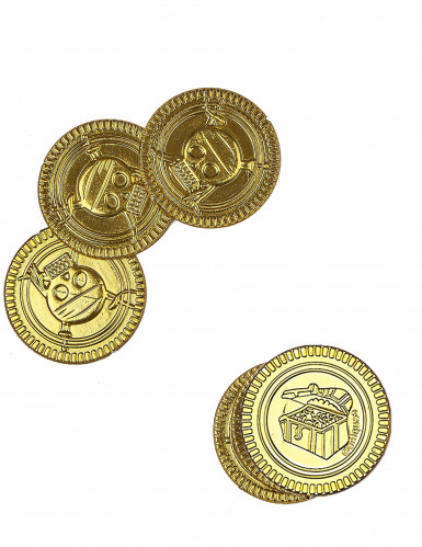 30 Monetine d'oro teschio