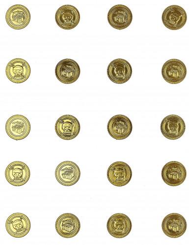 30 Monetine d'oro teschio-1
