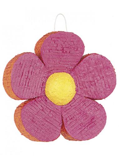 Piñata fiore rosa e arancione