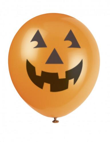 6 palloncini zucca di Halloween
