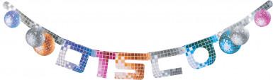 Banner lettere disco
