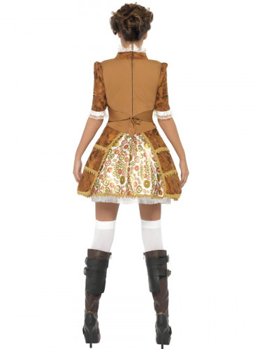Costume pirata sexy Steam Punk per donna-2