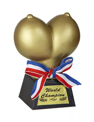 Trofeo umoristico seni d'oro