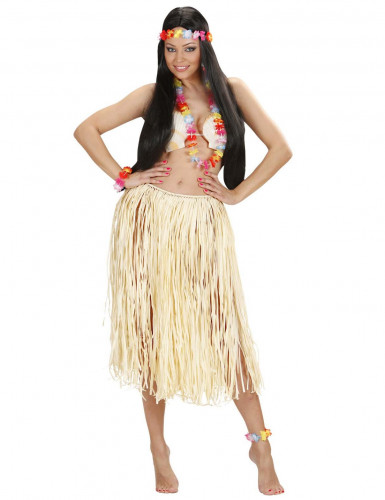 Set Hawaiiano Multicolore Adulto