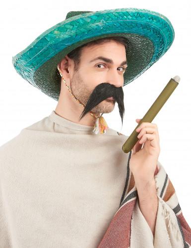Sombrero messicano verde adulto-1