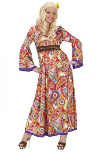 Costume hippie lungo da donna