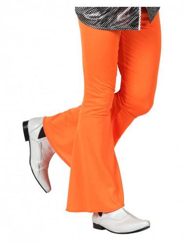 Pantalone disco arancione per uomo