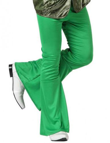 Pantalone disco verde uomo