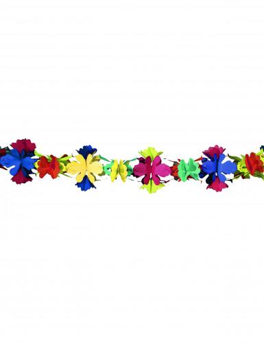 Ghirlanda di carta a fiori 4 metri