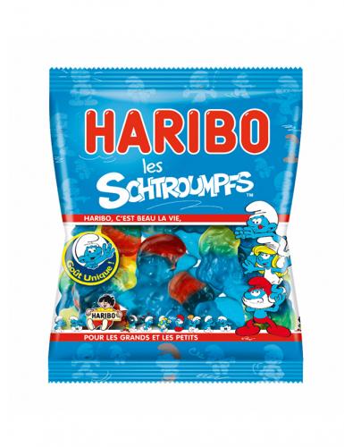 Mini sacchetto caramelle Haribo puffi