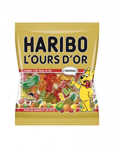 Sacchetto di caramelle Haribo orso dorato