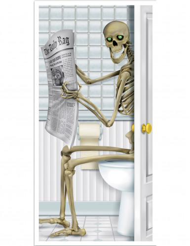 Decorazione per la porta del bagno Halloween