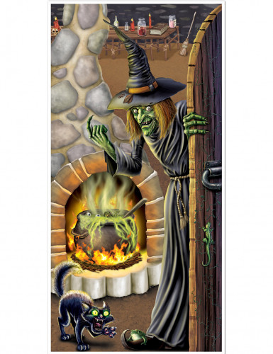 Decorazione per porta casa della strega
