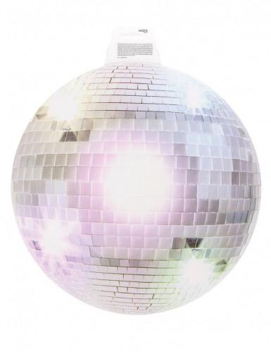 Decorazione da muro Disco argentato-1