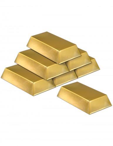 6 lingotti d'oro