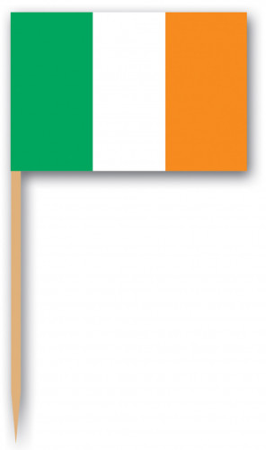 bandierine dell'Irlanda