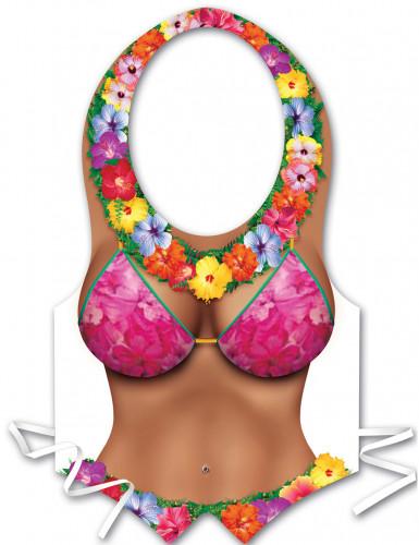 Grembiule di plastica donna Hawai