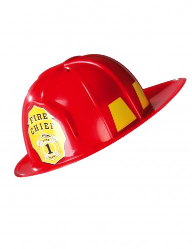 Casco Pompiere rosso Adulto