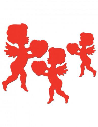 Decorazione cupido rosso San Valentino