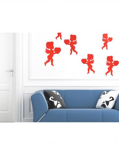 Decorazione cupido rosso San Valentino-1