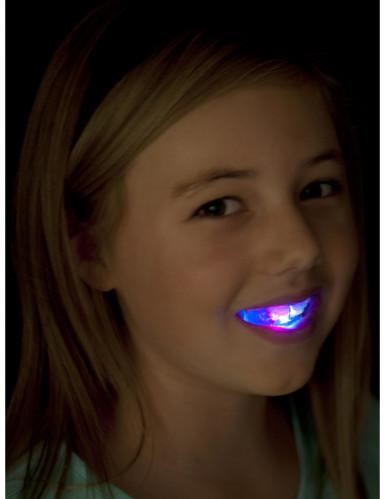 Dentiera luminosa con LED
