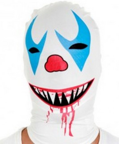 Maschera Morphsuits™ Clown assassino
