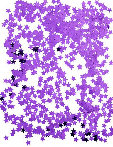 Coriandoli stelle metalliche viola-1