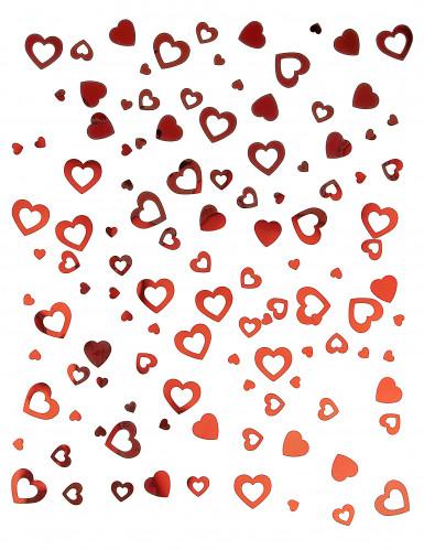 Coriandoli vuoti a cuori rossi San valentino-1