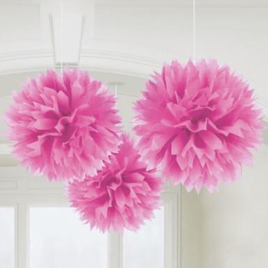 Decorazione da appendere sfere 3d rosa