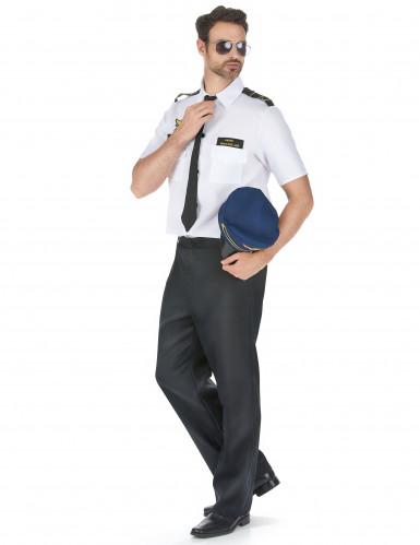 Costume pilota d'aereo uomo-1