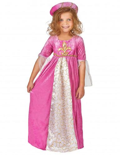 Costume principessa medievale bambina-1