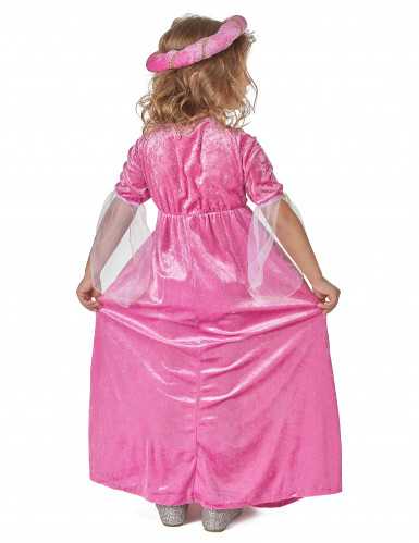 Costume principessa medievale bambina-2