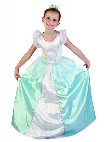 Costume principessa blu bambina