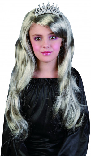Parrucca argentata bambina