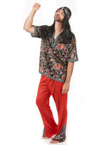 Costume Hippy fantastico per uomo-1
