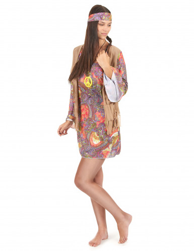 Costume Hippy donna-1