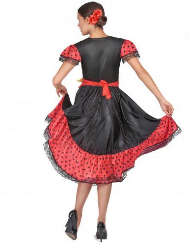 Costume danzatrice di Flamenco-2