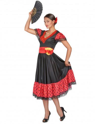 Costume danzatrice di Flamenco-1