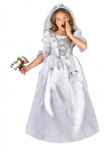 Costume da sposa bambina con velo