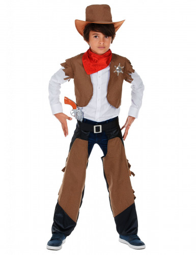 Costume cowboy coraggioso per bambino