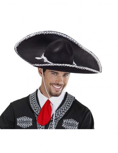 Sombrero nero adulto-1
