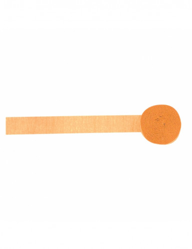 Rotolo di carta crespa arancione